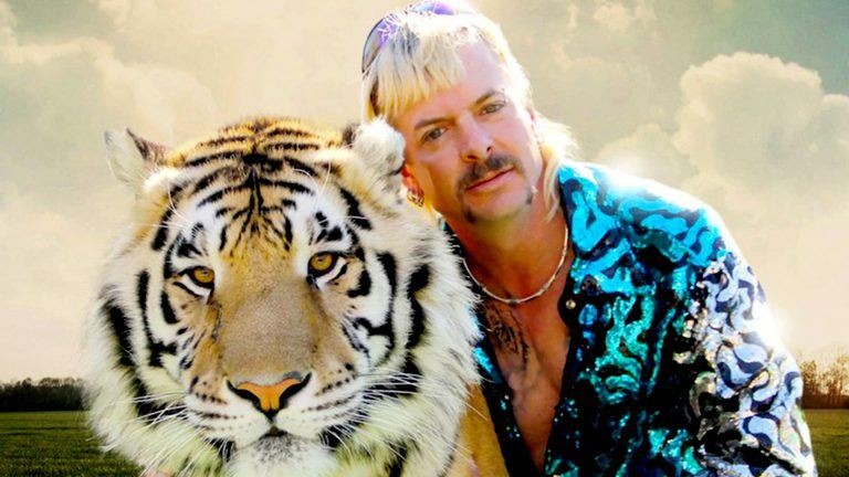 Joe Exotic i Netflix-serien Tiger King.