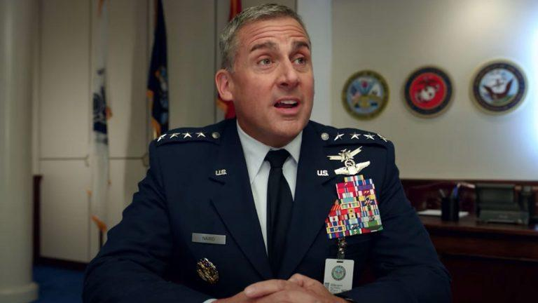 Steve Carell i Space Force.