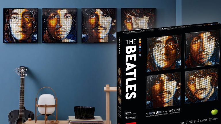 Beatles Lego Art