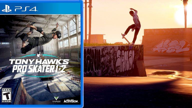 Tony Hawk's Pro Skater 1 och 2 remastered.