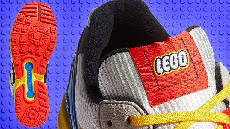 Lego, Adidas sneakers