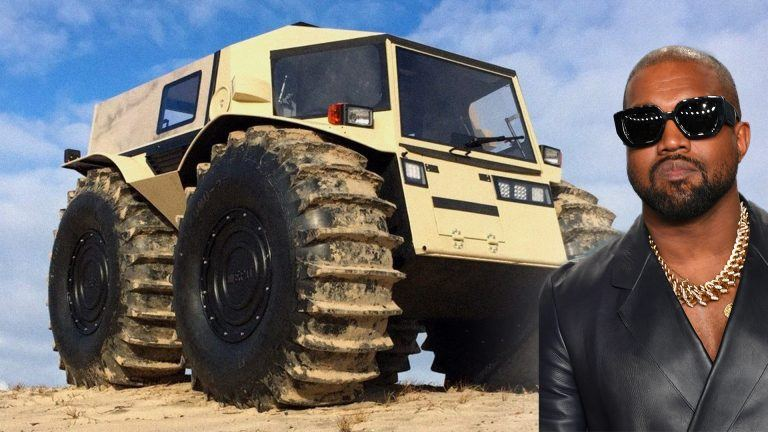 Kanye West och hans Monstertruck