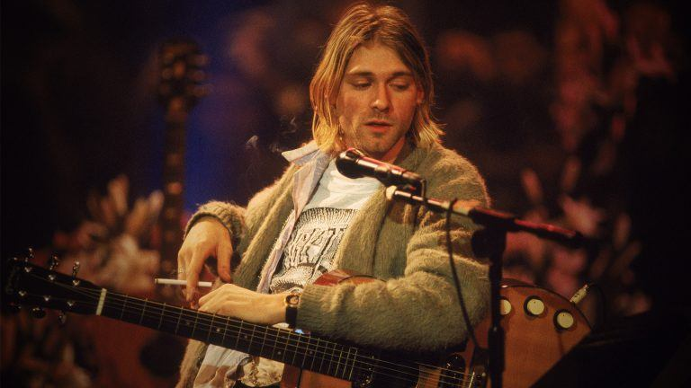 Kurt Cobain i MTV Unplugged 1994
