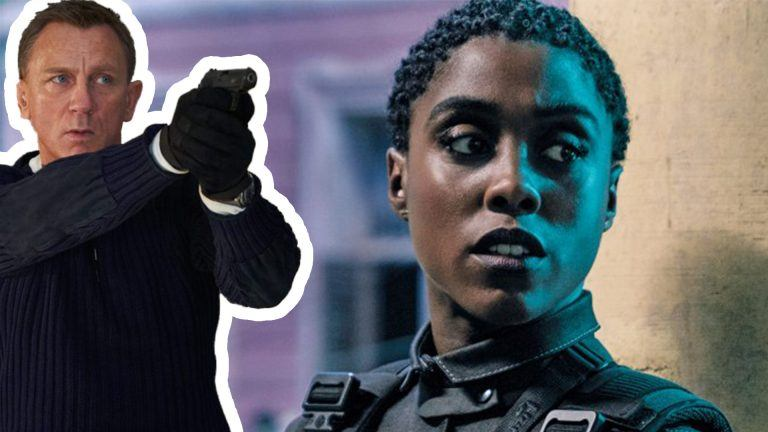 Lashana Lynch och Daniel Craig i Bond-rullen No Time To Die.