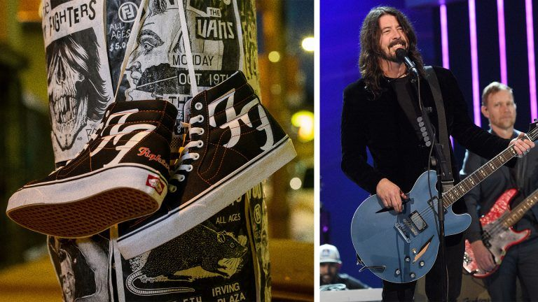 Dave Groghl och Vans Foo Fighters sneakers