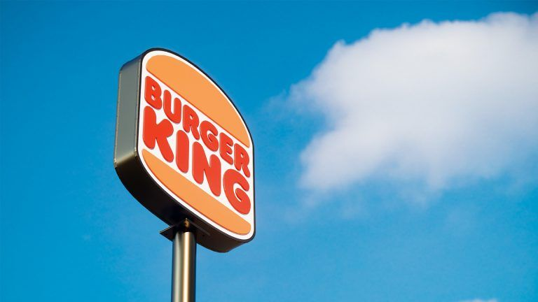 Burger Kings nya logga