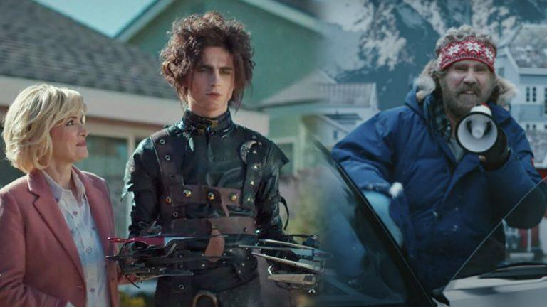 Edgar Scissorhands och Will Ferrell.