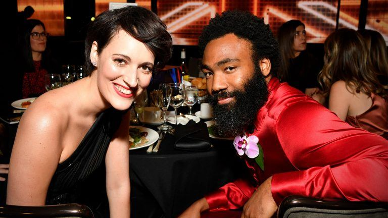 Phoebe Waller-Bridge och Donald Glover