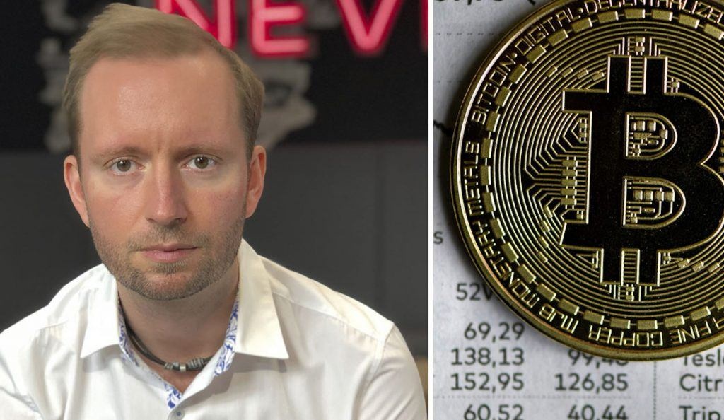 Edward cooper head of crypto currencies revolut bitcoin
