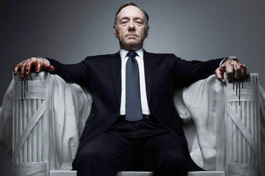 Kevin Spacey som Francis Underwood i House of Cards