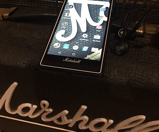 Picture: Marshall lanserar telefonen London med Graveyard och Imperial State Electric