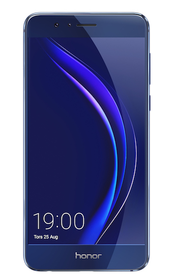 Honor8_Blue_Front