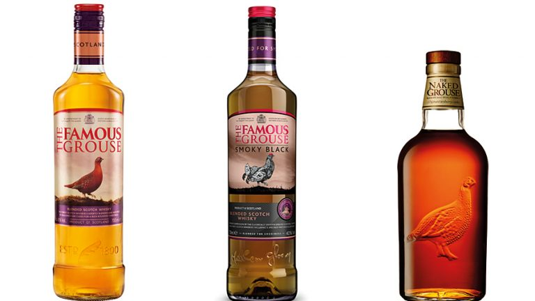 Picture: Famous Grouse storsatsar med ny design