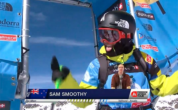 Sam Smoothy FWT 2015 Andorra Vallnord