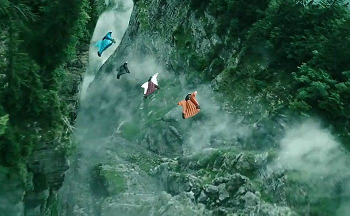 Point Break 2015 Wingsuit