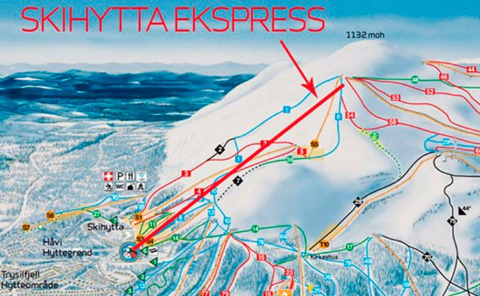 Picture: Trysil bygger ny stollift