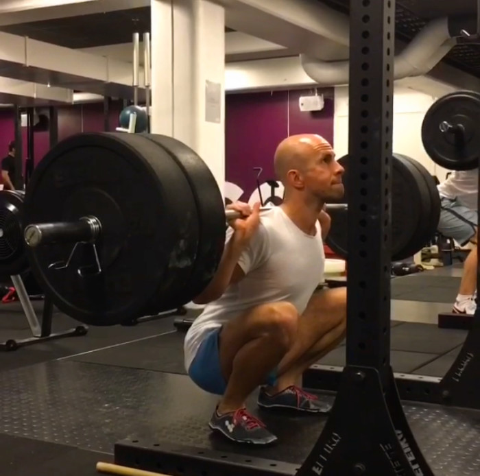"""You should not be able to see daylight between your hamstrings and calf muscles."" - Charles Poliquin"