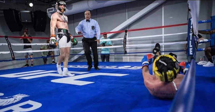 Picture: Kan Conor McGregor boxas?