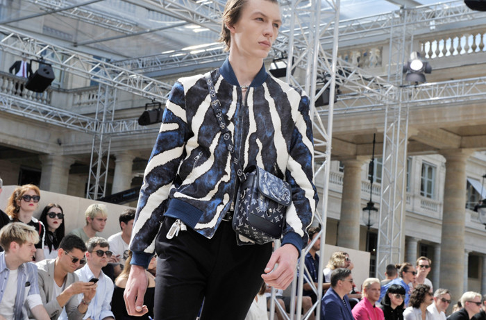 Louis Vuitton show, Paris Men's Fashion Week, Spring Summer 2017, France - 23 Jun 2016