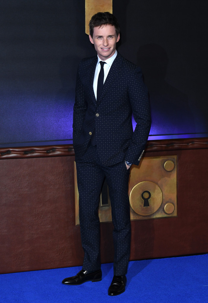 'Fantastic Beasts and Where To Find Them' film premiere, London, UK - 15 Nov 2016