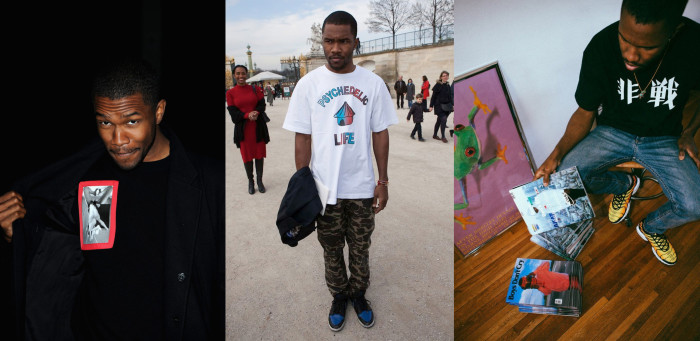 PARIS, FRANCE - MARCH 03: Frank Ocean attends the Givenchy Fall/Winter 2013 Ready-to-Wear show as part of Paris Fashion Week on March 3, 2013 in Paris, France. (Photo by Pascal Le Segretain/Getty Images)