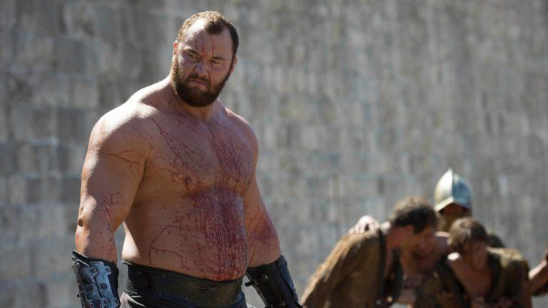 "Picture: ""The Mountain"" från Game of Thrones är världens starkaste man"