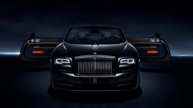 Picture: King testkör lyxcabrioleten Rolls-Royce Black Badge Dawn