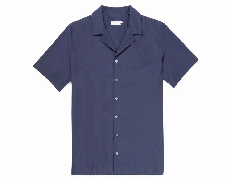 Klä dig klassiskt: Camp collar shirt