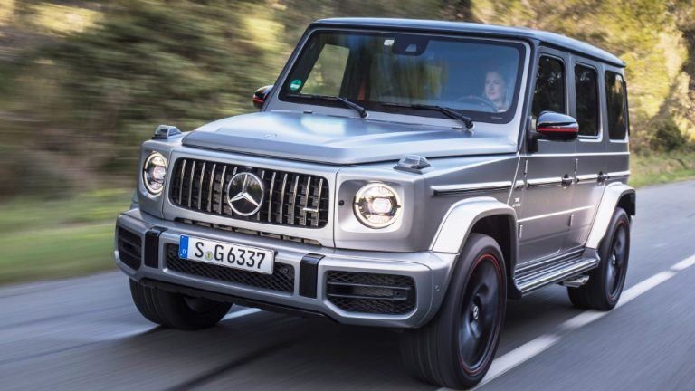 Picture: King testar Mercedes-AMG G 63