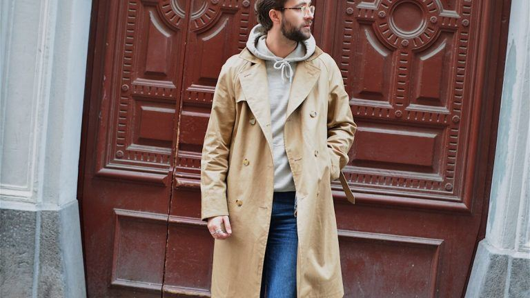 Picture: Höstens trenchcoat