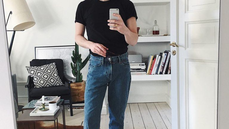 rak jeansmodell, straight fit
