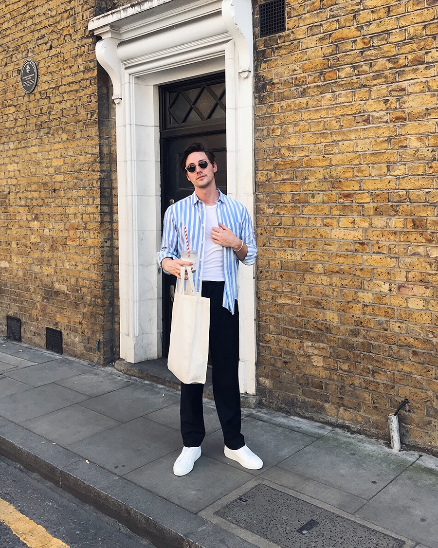 Shopping, styling in London