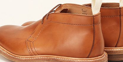 Picture: Trickers for Nitty Gritty Burnished Chukka Boot