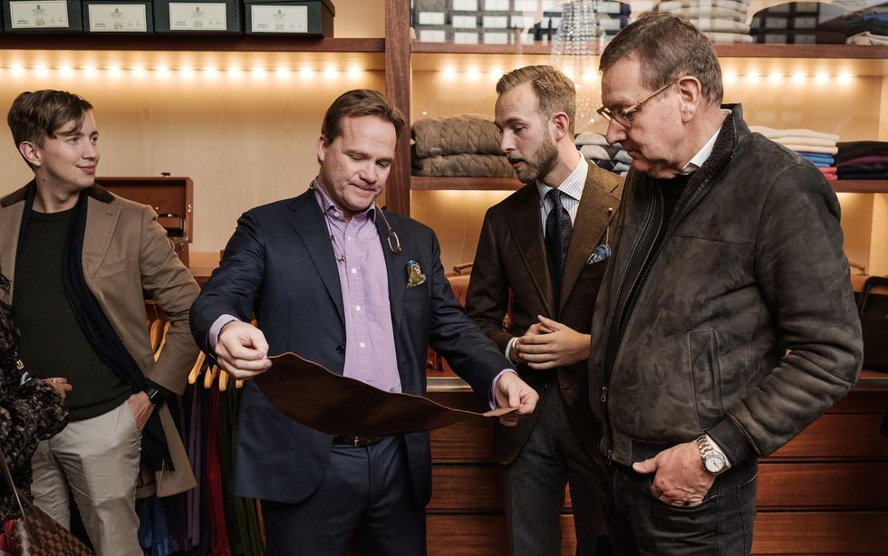 Vimmelbilderna från vårt Black Friday-event hos Crockett & Jones