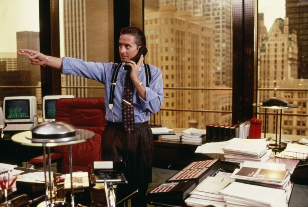 Fredagsinspiration - Gordon Gekko