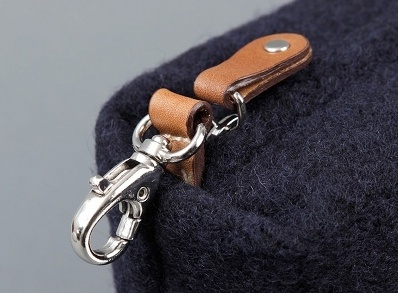Picture: Calabrese Boiled Wool Wash Bag