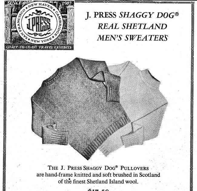 Stilstudie - Shaggy Dog-tröjan