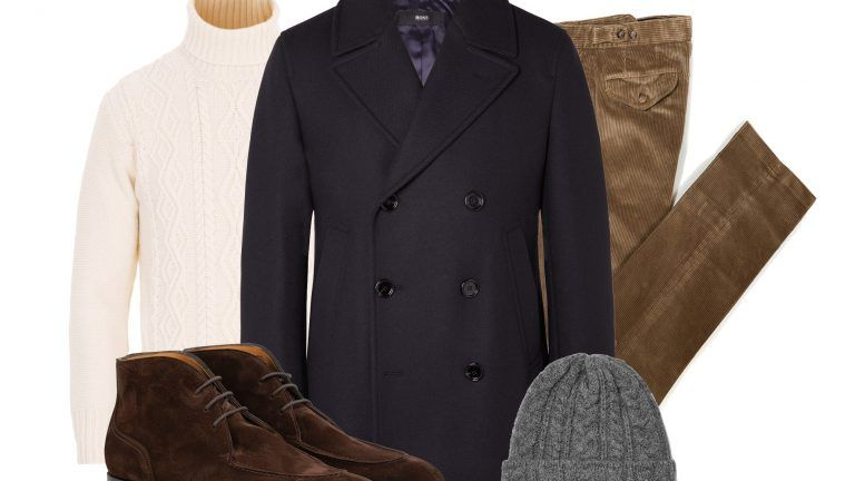 Picture: Fredaginspiration – The Navy Peacoat