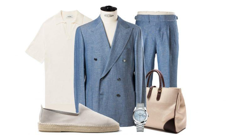 Picture: Fredaginspiration – The Light Blue Suit