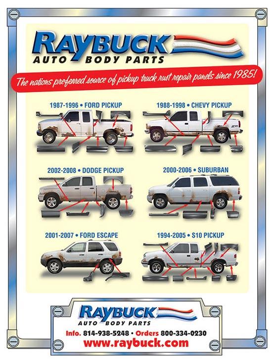Raybuck ad in Autabuy Magazine