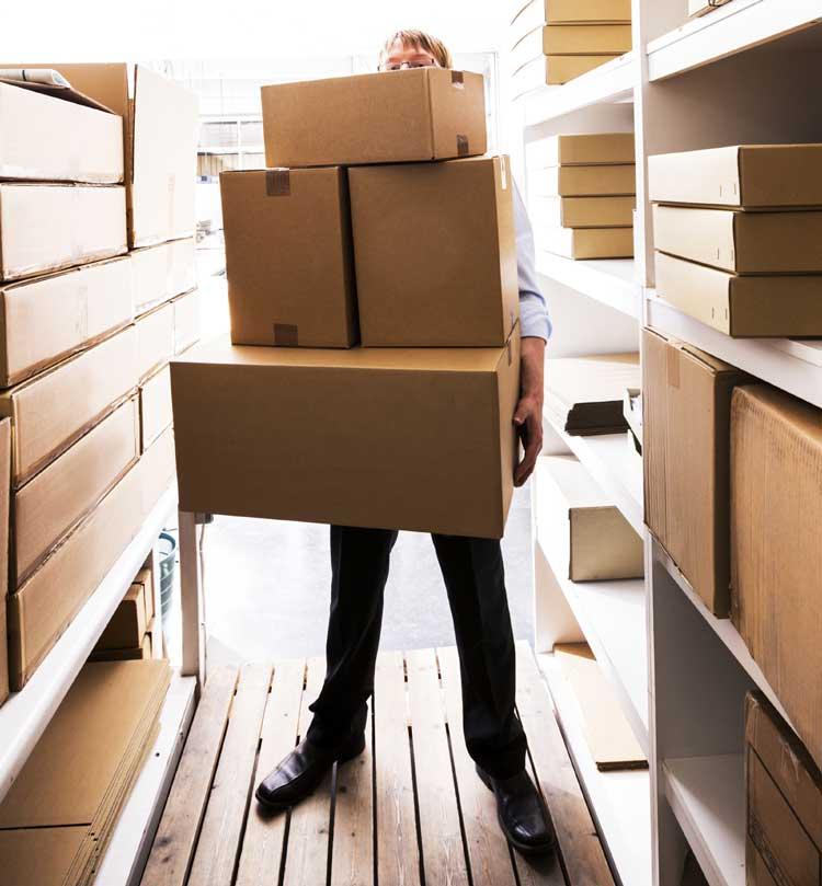 Cardboard boxes