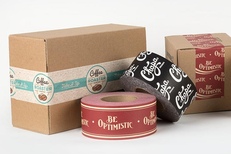 Branded packing tape