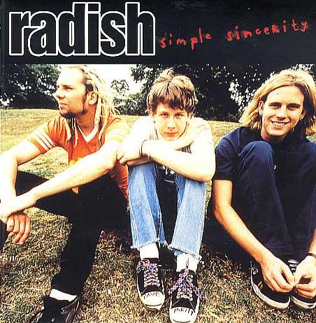 Radish CD cover