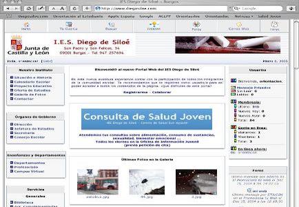 Crear un portal de servicios de Internet para un centro educativo