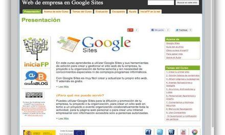 Curso Básico de Google Sites
