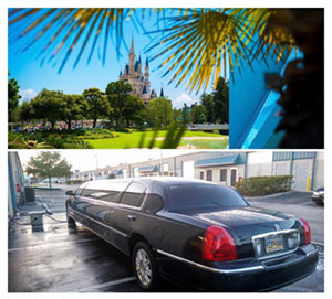 Orlando Airport limo to Disney World