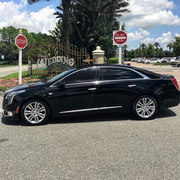 Luxury Sedan - Car Service Disney