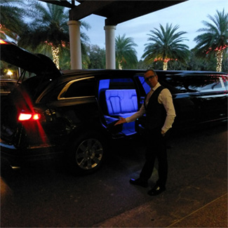 Chauffeur service in Disney area