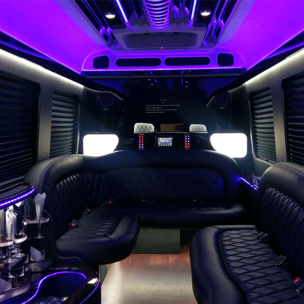 Hourly Limo Sprinter Limousine