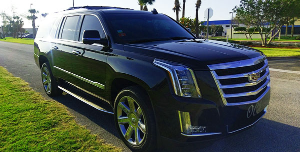 Luxury SUV Airport to Port Canaveral